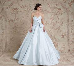 Yasmine #weddingdress from Sareh Nouri Fall 2016 Bridal Collection | itakeyou.co.uk