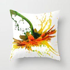 Painting Fabric Clothes Pattern 19 Ideas - Image 5 of 25 Diy Pillows, Custom Pillows, Decorative Pillows, Throw Pillows, Fabric Painting, Fabric Art, Pattern Painting, Pillow Room, Pattern Images