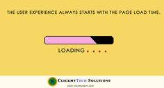 The #User #Experience Always starts with the #page #load time.. @ClickmyTech