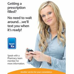 Don't wait around, we'll text you when your is ready! Talk to your Lawtons to use our convenient text Rx service. Text You, Talking To You, Pharmacy, Medical, Wellness, Health, Health Care, Medicine, Healthy