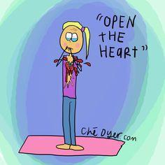 yoga humor via http//namastedharmacafeblogspot
