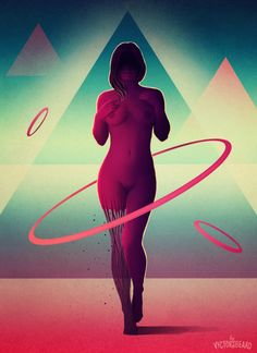 Victor Verseci art print graphic design