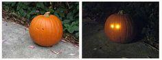 High-Tech Halloween Decor #DIY trendhunter.com