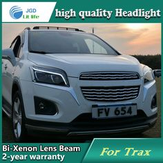 526.50$  Watch here - http://ali36i.worldwells.pw/go.php?t=32704200048 - Car Styling Head Lamp case for Chevrolet Trax Headlights LED Headlight DRL Lens Double Beam Bi-Xenon HID Accessories