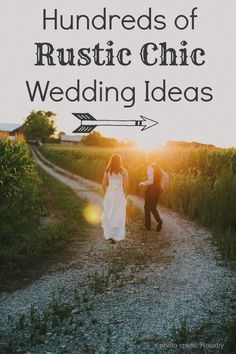 All the best rustic and country wedding ideas in one place!