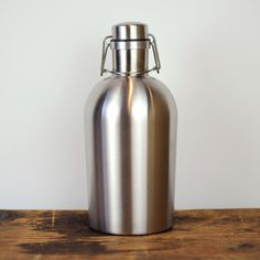 I am getting one of these... Beer and stainless steel, a perfect union.