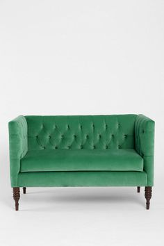 Urban Outfitters - Plum & Bow Tufted Settee