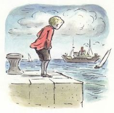 Edward Ardizzone was famous English artist best known as a children book illustrator and official war artist. History Of Illustration, Children's Book Illustration, Illustration Styles, Edward Ardizzone, English Artists, Kids Story Books, Art History, Illustrators, Folk Art