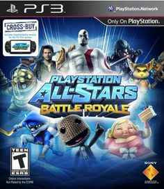 PlayStation All-Stars Battle Royale - PS3 #PlayStation#Games
