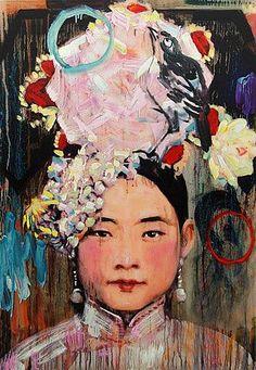 Chinese painting Hung Liu