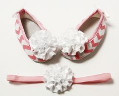 Crib Shoes Headbands-Wholesale Princess, Where Adorable Meets Affordable! Crib Shoes, Stylish Dresses, White Flowers, Pink White, Headbands, Chevron, Princess, Amp, Accessories
