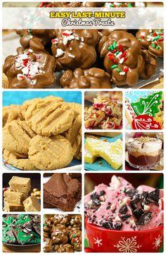 Easy Last-Minute Christmas Treats Christmas Sweets, Christmas Goodies, Christmas Baking, Christmas Candy, Christmas Time, Christmas Ideas, Fun Easy Recipes, Candy Recipes, Dessert Recipes