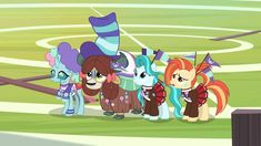 #2117765 - 2 4 6 greaaat, changedling, changeling, clothes, flag, hat, lighthoof, ocellus, pleated skirt, pony, ponytail, safe, screencap, shimmy shake, skirt, spoiler:s09e15, yak, yona - Derpibooru Mlp, Pleated Skirt, My Little Pony, Ponytail, Shake, Skirts, Clothes, Pleated Skirt Outfit, Outfit