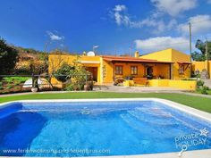 #Haus mit #Privatpool auf einer Finca in La Esperanza in #Tenerife
