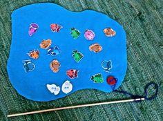 Kalassa on joko n-k tai n-g. Kalastajan pitää keksiä sana, jossa on ko äänne. Uutta kalastusvuoroa odottaessaan hän kirjoittaa keksimänsä sanan.