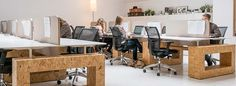 Image result for open plafonds werkplekken kantoor