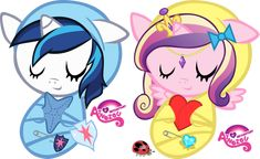 My Little Pony Friendship Is Magic Princess | My Little Pony Nursery (Friendship Is Magic MLP) Princess Cadance and ...