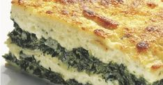 Lasagna with Spinach Simply Recipes, Greek Recipes, Simply Food, Brunch Recipes, Breakfast Recipes, B Recipe, Spinach Lasagna, Pasta Bake, Morning Food