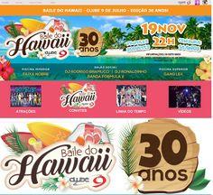 SOCIAIS CULTURAIS E ETC.  BOANERGES GONÇALVES: Baile do Hawaii do Clube 9 de…