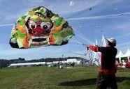 barriletes en el Festival francés  kites on France festival