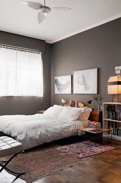 Aposte em cores intensas e ousadas na parede - Casa