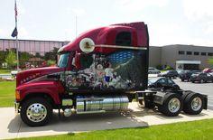 mack trucks | ... for freedom greensboro nc may 25 2012 mack trucks employees honored