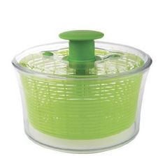 OXO Good Grips Green Salad Spinner #kitchentips
