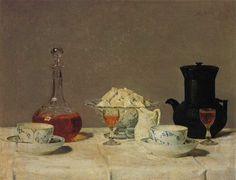 Albert Anker - Kaffee