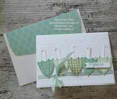 dress ideas – New Ideas Weather Cards, Umbrella Cards, Stampin Up Anleitung, Wedding Shower Cards, Birthday Cards For Mom, Under My Umbrella, Stampin Up Catalog, Stamping Up Cards, Cards For Friends
