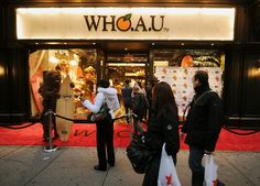 WHO A.U New York - my favourite store in New York my sister showed me this store I love it