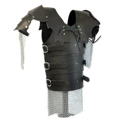 Ooh! Elven Warrior Leather Armour with Chainmail - DK5002 by Medieval Collectibles