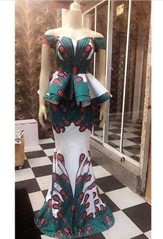 """The possibilities are endless when it comes to Ankara and this week we are inspired by Finiee couture. The """"African"""" print itself arouses a considerable measure of styles, Ankara/African prints… African Fashion Designers, African Inspired Fashion, African Dresses For Women, African Print Dresses, African Print Fashion, Africa Fashion, African Attire, African Wear, African Fashion Dresses"""