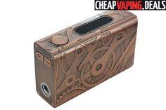 Brass Tesla Steampunk Nano 100W Box Mod $53.19