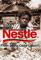 AFRICA'S SOCIALIST BANNER: Nestle and Child Slavery