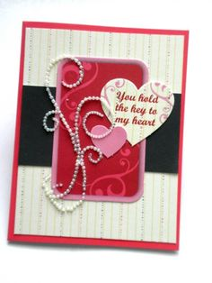 You Hold The Key to My Heart Valentine Card