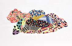 Jazmin Berakha. Contemporary embroidery.