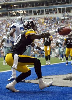 Plaxico Burress - Pittsburgh Steelers