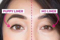 Korean Beauty Trends — How to Do Puppy Liner, Orange Blush, and Gradient Lips Makeup Trends, Eyeliner Trends, Beauty Trends, Makeup Hacks, Makeup Ideas, Korean Makeup Tips, Korean Makeup Look, Korean Makeup Tutorials, Asian Makeup