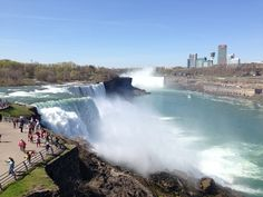 """See 4487 photos from 25560 visitors about scenic views, canadian side, and american side. """"Perfect place to see the falls. You can take a boat, go up. Niagara Falls American Side, Travel Memories, Perfect Place, Places To See, Boat, Travel Souvenirs, Dinghy, Boats"""