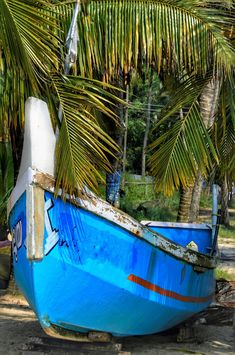 Travel, Wooden, Small, Boat, Blue, Beach, Nature #travel, #wooden, #small, #boat, #blue, #beach, #nature