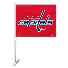 Washington Capitals Car Flag #WashingtonCapitals