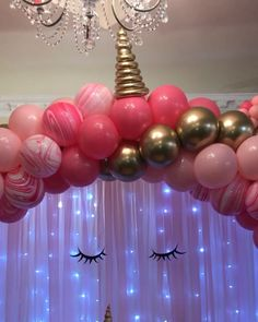 Unicorn Themed backdrop & balloons : Complete unicorn party Themed set up Hawaiian Party Decorations, Diy Party Decorations, Balloon Decorations, Balloon Ideas, Unicorn Themed Birthday Party, Unicorn Party Decor, Girl Birthday Party Themes, Hotel Birthday Parties, Butterfly Theme Party