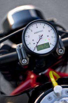 Motogadget Guage #cafe #motorcycle #Cretins