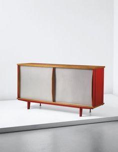 PHILLIPS : UK050215, Jean Prouvé, Unique sideboard, model no. BA 12