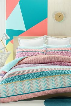 Phase 2 Tamille Quilt Cover Set QB