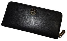 Michael Kors Fulton ZA Continental Wallet - Black