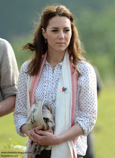 Catherine, Duchess of Cambridge prepares to leave on a safari in Kaziranga National Park on day 4 of the royal visit to India and Bhutan on April 13, 2016 in Kaziranga, India.