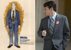 81st Academy Awards - Nominated for Best Costume Design - Milk.  The freewheelin' days of San Francisco are reflected in 'Milk's' T-shirts, beads and muttonchops. Sean Penn - nominated for best actor - is shown here in the lead role as Harvey Milk.