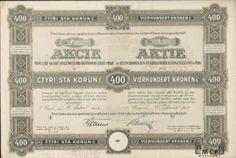 A1166 / Muzeum cennych papiru / První česká akciová společnost pro raffinování cukru (Erste böhmische Zuckerraffinerie-Actiengesellschaft). / akcie na majitele (Inhaberaktie) 400 K Praha 1.1.1921 / AZP3CZ124