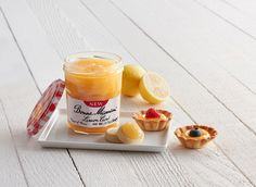 Our new Lemon Curd is the perfect ingredient for these sweet and tasty Mini Lemon Curd Tarts – the perfect dessert for any occasion! Mini Lemon Tarts, Lemon Curd Tart, Lemon Curd Recipe, Desert Recipes, Cookie Monster, Chutney, Easy Desserts, Preserves, Jelly